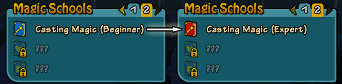 Upgrade Magic School