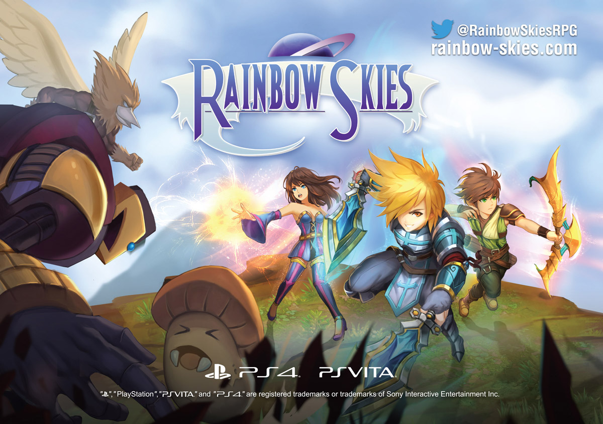 Rainbow Skies TGS2017 Poster