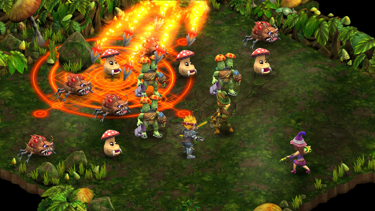 Rainbow Skies Battle System
